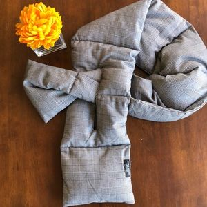 Zara puffy scarf